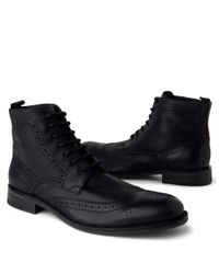 Kenneth Cole | Black Quick Thinker Boots for Men | Lyst