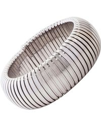 Sidney Garber | White Petite Domed Cuff | Lyst