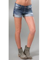 Joe's Jeans | Blue Loose Rolled Short | Lyst