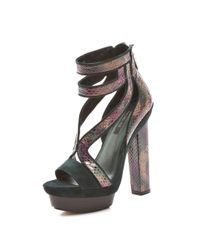 Rachel Zoe | Brown Payton High Heel Sandals | Lyst