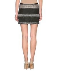Edun - Green A Line Mini Skirt - Lyst