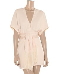 Elizabeth and James | Natural Anita Belted Kimono Dress | Lyst
