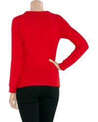 IRO   Red Angora-blend Sweater   Lyst