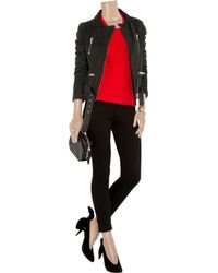 IRO - Red Angora-blend Sweater - Lyst
