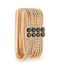 Mango | Metallic Multi Chains Bracelet | Lyst