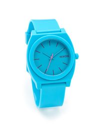 Nixon | Blue The Time Teller P Watch | Lyst