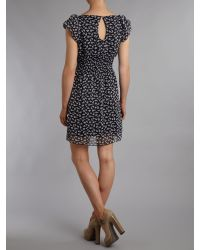 Pussycat | Black Pussycat Rabbit Print Dress | Lyst