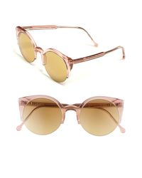 Retrosuperfuture | Pink Lucia Sunglasses | Lyst