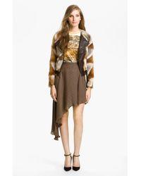 Kelly Wearstler | Multicolor Winston Genuine Fox Fur Jacket | Lyst