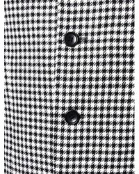 A Bathing Ape | Black Four Button Houndstooth Wool Jacket for Men | Lyst