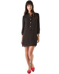 Juicy Couture - Black Yorkshire Foliage Dress - Lyst