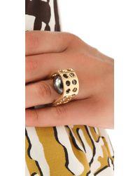 Kelly Wearstler - Metallic Hooded Ball Ring - Lyst