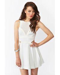 Nasty Gal In Dreams Dress In White Lyst