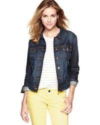 Gap - Blue Denim Jacket - Lyst