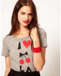 Sonia by Sonia Rykiel - Red Bracelet - Lyst