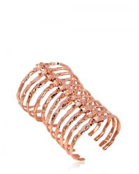 Bjorg | Pink After Eden Long Spine Bracelet | Lyst