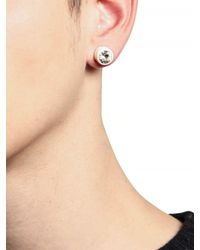 Givenchy | Metallic Swarovski Earrings for Men | Lyst