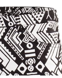 H&M   Black Trousers   Lyst