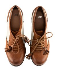H&M | Brown Shoes | Lyst