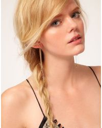 Bing Bang - Multicolor Bullet Front To Back Earrings - Lyst