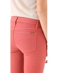 Joe's Jeans - Red The Skinny Jeans - Lyst