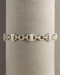 Penny Preville | Metallic Link Bracelet | Lyst