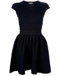 Red Valentino | Blue Aline Dress | Lyst