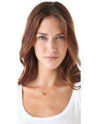 Jennifer Zeuner - Metallic Medium Ball Necklace - Lyst