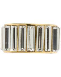 kate spade new york | Metallic Crystal Chips Ring | Lyst