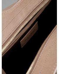 Saint Laurent | Brown Structured Bag | Lyst