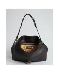 Jimmy Choo | Black Leather Rachel Shoulder Bag | Lyst