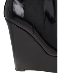 ASOS | Black Asos Attend Chelsea Wedge Ankle Boots | Lyst