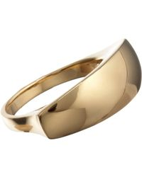 Maiyet | Yellow Gold Sculpt Ring | Lyst
