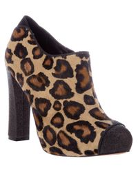 Sam Edelman | Animal Kalinda Leopard-Print Calf Hair Loafer | Lyst