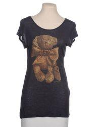 See By Chloé - Blue Short Sleeve T-Shirt - Lyst
