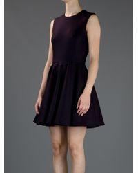 Alexander McQueen   Black A Line Dress   Lyst