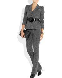 Burberry | Gray Tweed Jacket | Lyst