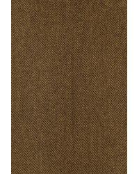 J.Crew - Green Minnie Cropped Wool Herringbone Pants - Lyst