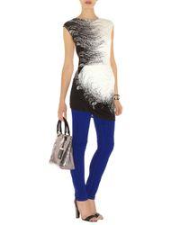 Karen Millen   Black Customised Texture Print   Lyst