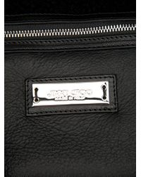 Jimmy Choo | Black Heart Charm Bag | Lyst