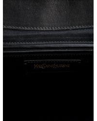 Saint laurent Purely Tote Bag in Black | Lyst