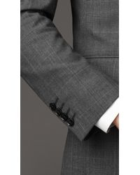Burberry - Gray Modern Fit Prince Of Wales Check Suit for Men - Lyst