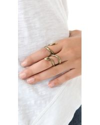 House of Harlow 1960 - Metallic Wrap Snake Ring - Lyst