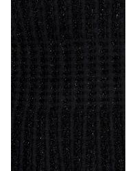 Alaïa | Black Entrelacs Lux Dress | Lyst