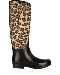 HUNTER - Black Regent Montpelier Wellington Boots - Lyst