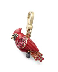 Juicy Couture | Gold Tone Red Cardinal Charm | Lyst