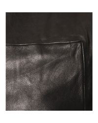 Alexander Wang   Black Pleated Leather Top   Lyst