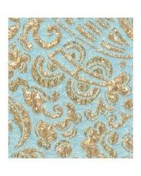 Dolce & Gabbana   Gold Jacquard Woven Mini Skirt   Lyst