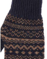 Ted Baker - Blue Fingerless Gloves for Men - Lyst