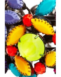 Tom Binns - Multicolor Riri Swarovski Crystal Cuff - Lyst